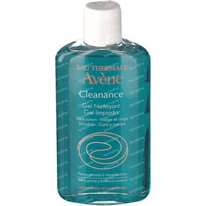 Avène Cleanance Cleansing Gel Without Soap 200 ml