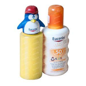 Eucerin Kids Sun Spray SPF50+ GRATUIT Jouet d'Eau 200 ml