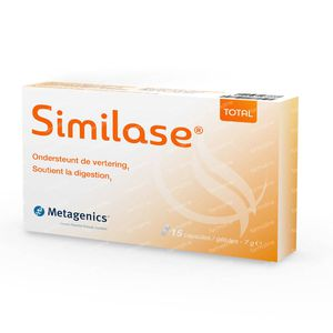 Similase Total New Formula enzimi digestivi 15 capsule