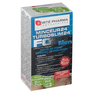 Forté Pharma Turboslim 24 Forte Men Duopack 2x28 tabletten