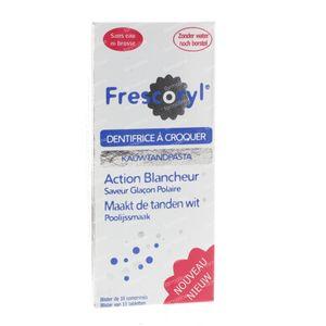Frescoryl Dentifrice Polar glace 10 comprimés à croquer