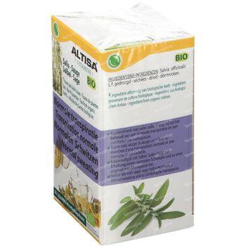 Altisa Thé Sauge Bio 20x2 g sachets