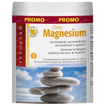 Fytostar Magnesium Chew 120 kauwtabletten