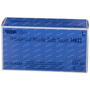 Handschoen ADV Nitril Soft Touch mk2 gm 150 pièces