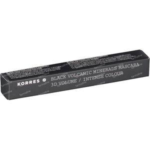 Korres Black Volcanic Minerals Mascara 01 Black 8 ml