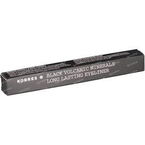 Korres Pencil Mineral Black Long-Wear 1 St