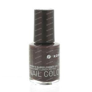 Korres Nail Polish Stone Brown 63 10 ml
