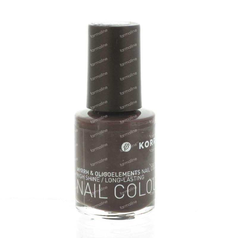 Korres Nail Polish Stone Brown 63 10 ml order online.