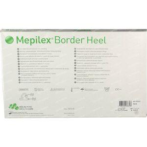 Mepilex Border Heel 18.5cm x 24.0cm 5 pièces