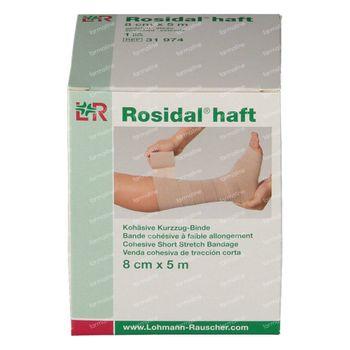 Rosidal Haft 8cm x 5m 31974 1 stuk
