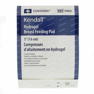 Kendall Hydrogel Borstvoeding Pads 2 stuks