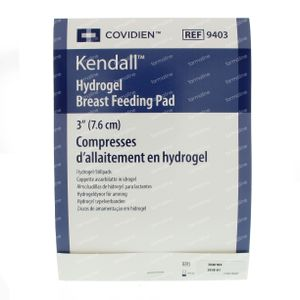 Kendall Hydrogel Breast Feed Pads 2 pieces