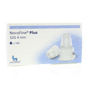 Novofine Plus Needles 32g 4mm 100 pieces