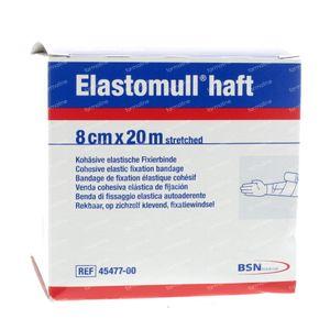 Elastomull Haft 45477-00 8cm x 20m 1 stuk