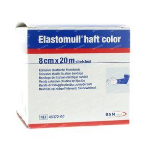 Elastomull Haft Blauw 45372-00 8cm x 20m 1 stuk