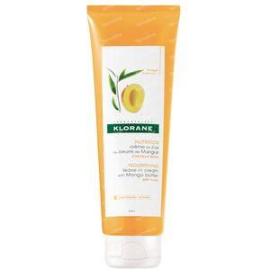 Klorane Creme De Jour Sans Rinçage Mangue pour les Cheveux 125 ml