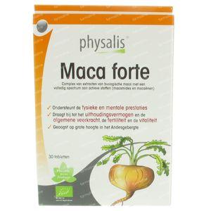 Physalis Maca Forte Bio 30 tabletten