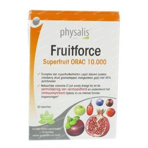 Physalis Fruitforce 30 tabletten