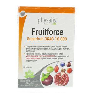 Physalis Fruitforce 30 comprimés