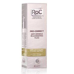 RoC Pro-Correct Fluide Anti-Rides Régénérant 40 ml