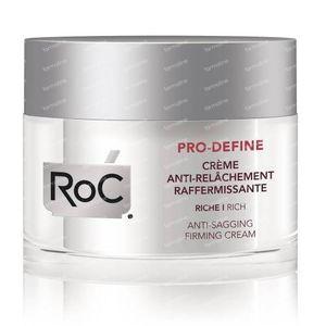 RoC Pro-Define Verstevigende Crème tegen Huidverslapping Rijke Textuur 50 ml