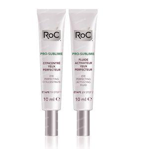 Roc Pro-Sublime Perfectionerend Anti-Aging Systeem Oogcontouren 2x10 ml