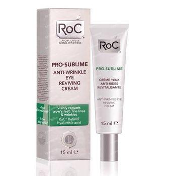 RoC Pro-Sublime Crème Yeux Anti-Rides Revitalisante 15 ml