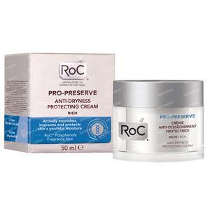 RoC Crème Anti-Dessèchement Protectrice PRO-PRESERVE 50 ml