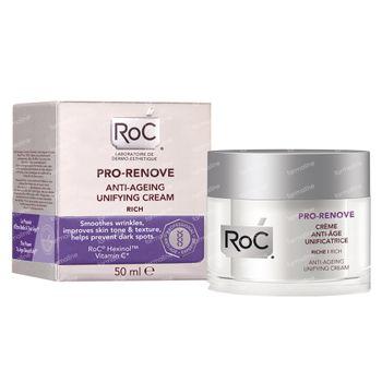 RoC Pro-Renove Egaliserende Anti-Aging Crème Rijke Textuur 50 ml