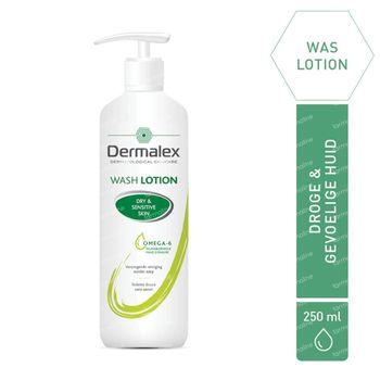 Dermalex Hydraterende Waslotion - Droge en Gevoelige Huid 250 ml
