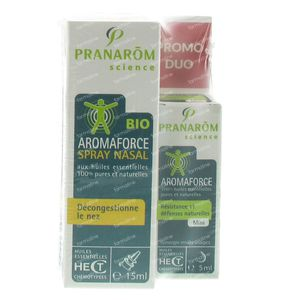 Aromaforce Duo Spray Nasal + Mini Lotion 15+5 ml