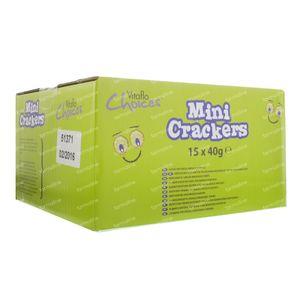 Vitaflo Choice Mini Crackers Provençaals 15 stuks