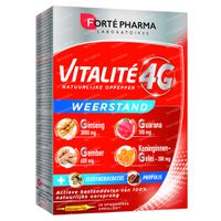 Forté Pharma Vitalité 4G Weerstand 20x10 ml ampoules