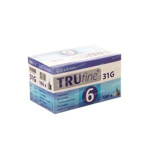 Trufine Pen Naald 31g 0,25x6mm 76002 100 stuks