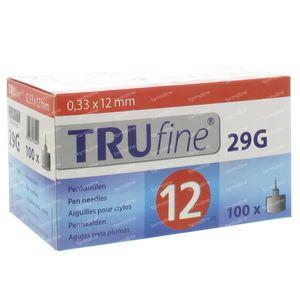 Trufine Pen Naald 29g 0,33x12mm 76001 100 stuks