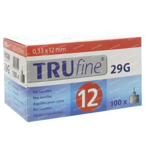 Trufine Pen Needle 29g 0,33x12mm 76001 100 pieces