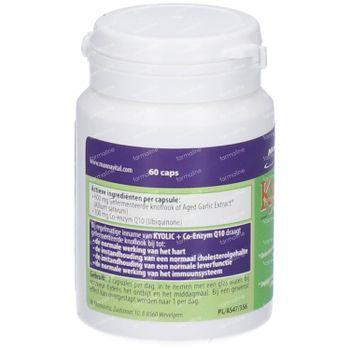 Mannavital Kyolic + Coenzym Q10 60 capsules
