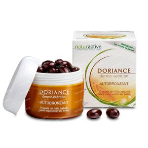 Naturactive Doriance Autobronzant 30 capsules