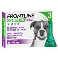 FRONTLINE Combo Line Hond L 20-40kg 3  pipet(ten)