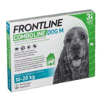 FRONTLINE Combo Line Chien M 10-20kg 3 pipette(s)
