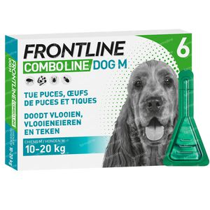 FRONTLINE Combo Line Hond M 10-20kg 6 pipet(ten)