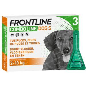 FRONTLINE Combo Line Hond S 2-10kg 3 pipet(ten)