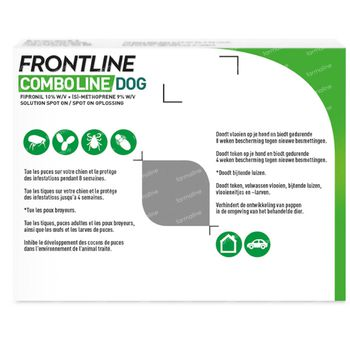 FRONTLINE Combo Line Chien S 2-10kg 3 pipette(s)