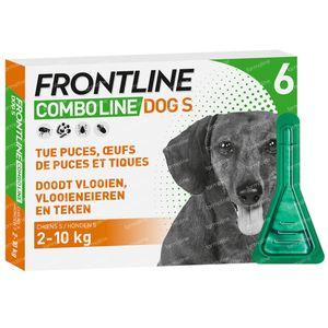 FRONTLINE Combo Line Chien S 2-10kg 6 pipette(s)