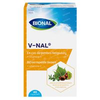 Bional V-nal – Bloedvaten – Bij Vermoeide Benen - Voedingssupplement met Vitamine C 40  capsules