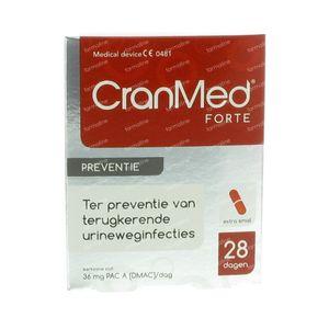 Cranmed Forte Preventie 28 St capsules