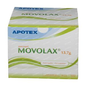 Movolax 13,7 Solution Poudre 50 sachets