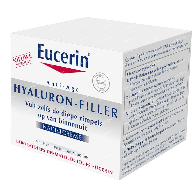 eucerin hyaluron filler night cream serum 50 ml order online. Black Bedroom Furniture Sets. Home Design Ideas