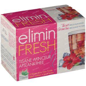 Tilman Tisane Minceur Elimin Fresh Hibiscus/Fruits Rouges 24 sachets