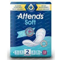 Attends Inleg Soft Normal 2 12 st